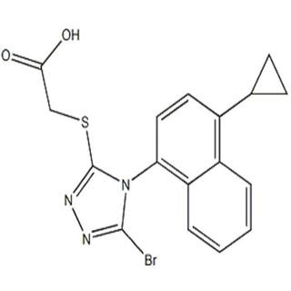 Pharm Intermediates Lesinurad RDEA594 CAS No. 878672-00-5